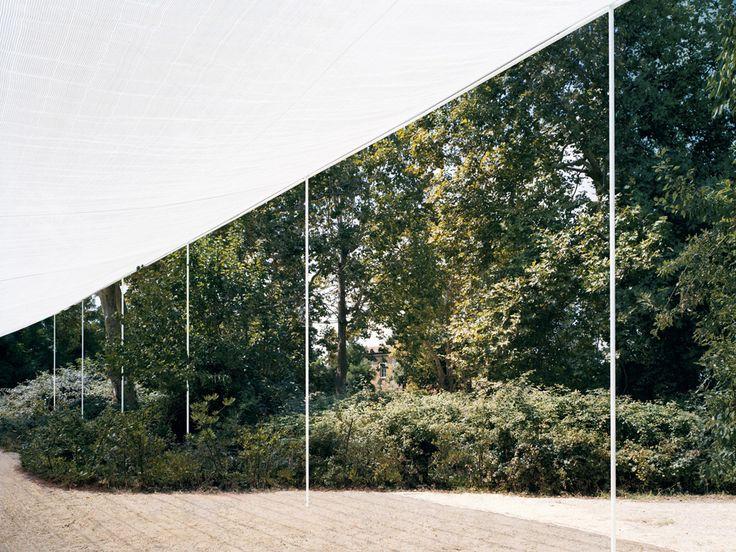 Kersten Geers David Van Severen & Bas Princen - Garden pavilion at the architectural biennial, Venice 2010