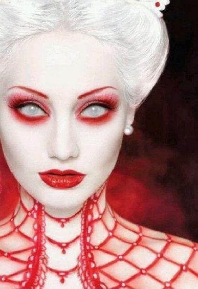 Idée maquillage Halloween vampire