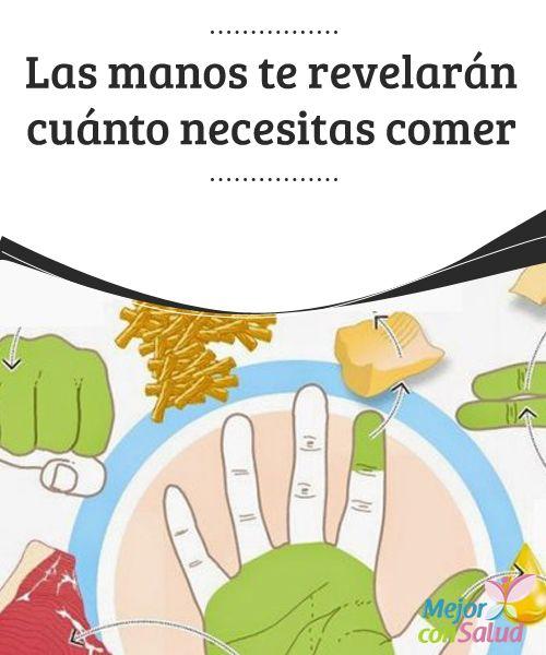 Las manos te revelarán cuánto necesitas comer  ¿Sabías que las manos te pueden ayudar a saber cuánto necesitas comer? Descubre cómo y mejora tu forma de alimentación.