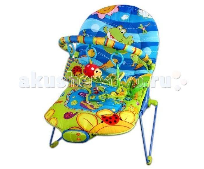 Жирафики Кресло-качалка Веселый лягушонок  Жирафики Кресло-качалка Веселый лягушонок  Малыш никак не может успокоиться и заснуть? Посадите его в кресло-качалку. Равномерное покачивание успокоит ребенка, а забавные и милые игрушки-подвески развлекут непоседу.  Особенности: Кресло оборудовано игровой дугой. На панели управления - две кнопки: проигрывание мелодий и вибрация. Проигрыватель воспроизводит 10 мелодий, имеется регулировка громкости звука. Режим вибрации для укачивания. Кресло…