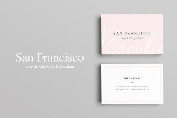 San Francisco Business Card By Ruben Stom On Creativemarket