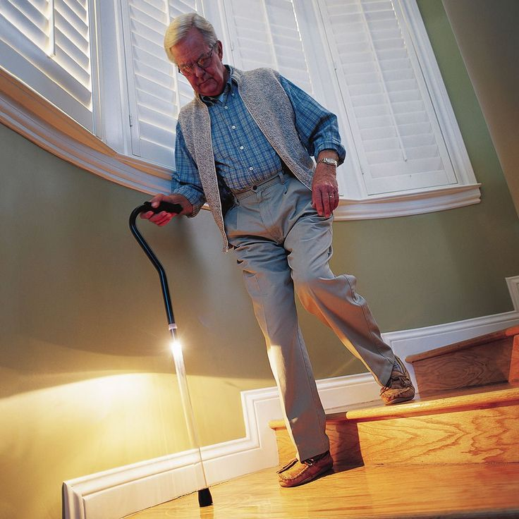 Lowest Price on PathLighter Cane - Adjustable Offset Handle Walking Cane With Clear Shaft.