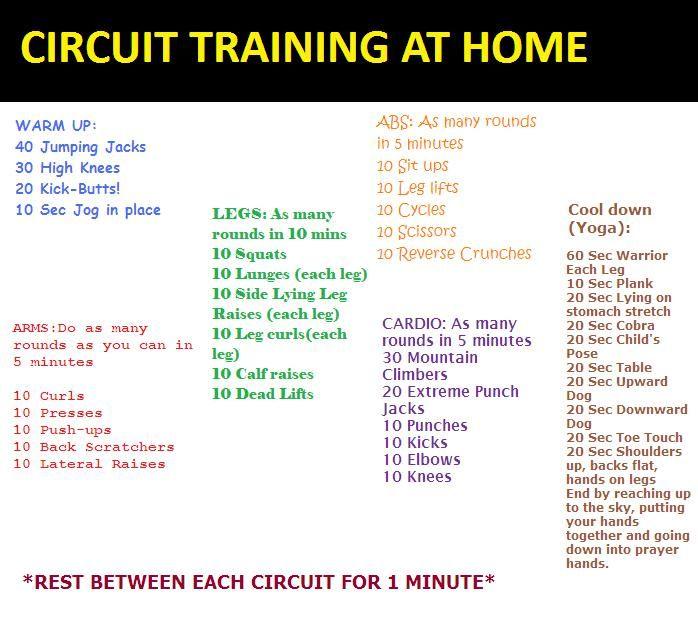 Circuit Training Timer