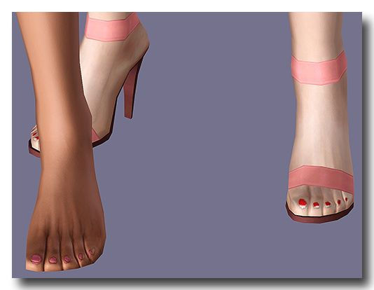 My Sims 3 Blog: Eyes, Lips & Painted Toenails by Mspoodle1