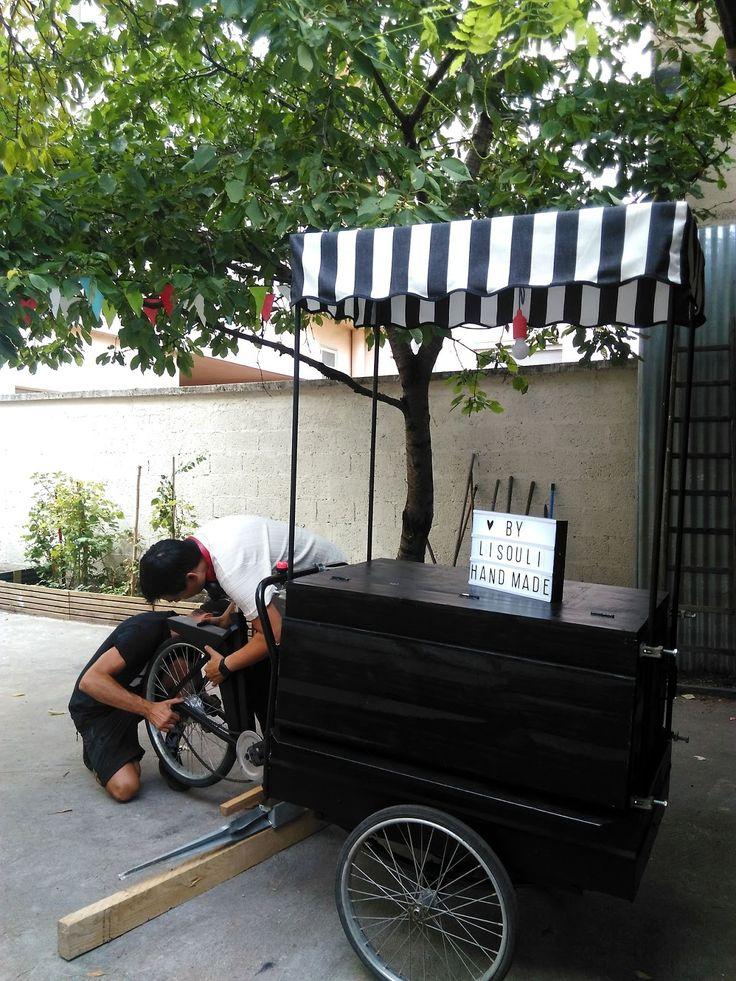 By Lisouli: Un vélo triporteur cargo fait maison