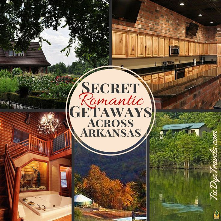 Need to book a getaway for Valentine's Day? Here's 40 options to check out. Secret Romantic Getaways Across Arkansas. | Tie Dye Travels with Kat Robinson #visitarkansas