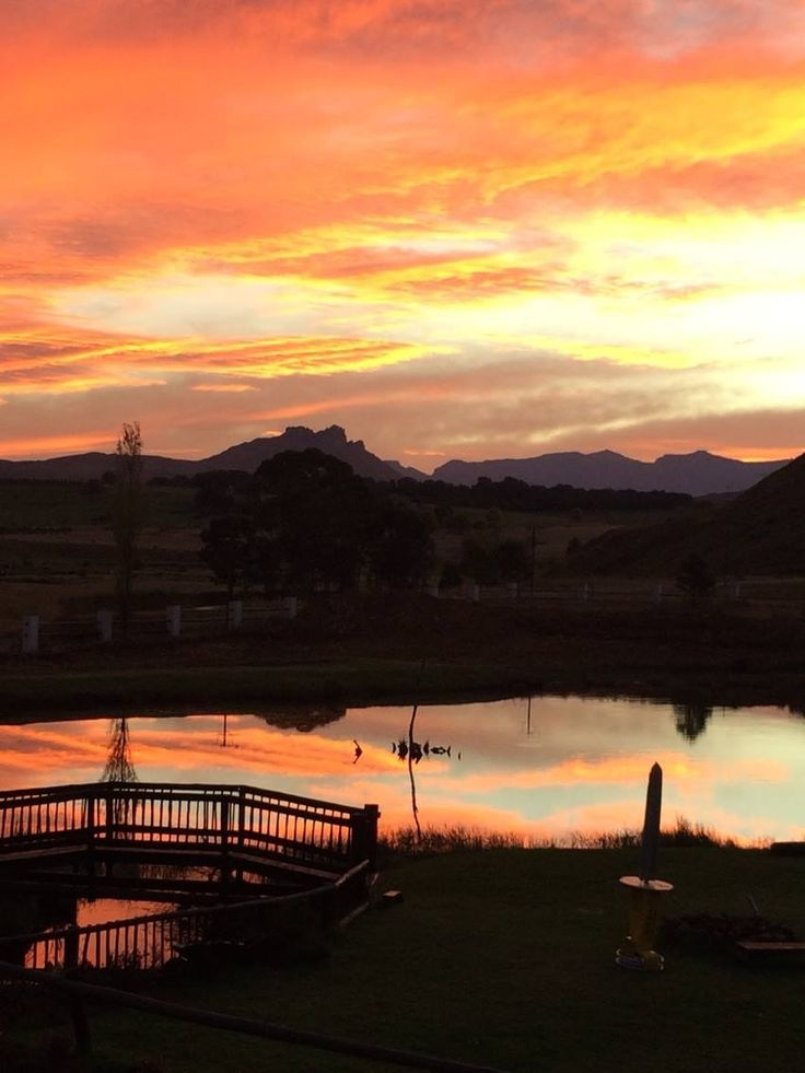 Sunset the Old Hatchery Underberg