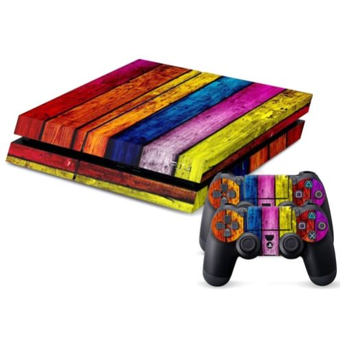 [$4.20] Wood Texture Decal Stickers for PS4 Game Console