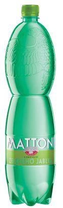 Mattoni Green Apple - sparkling mineral water #bottle #design #productdesign #water #mattoniwater #mineral #apple