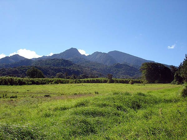 A view to Volcan Baru near Boquete during our tour to Peru. Discover Panama.