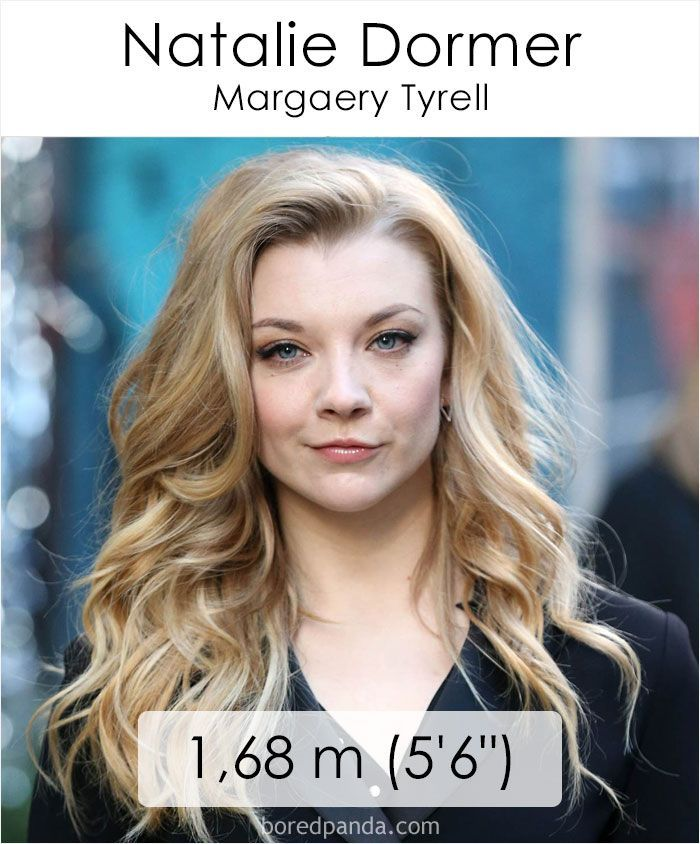 'Game Of Thrones' Characters Ordered By Their Real Life Height