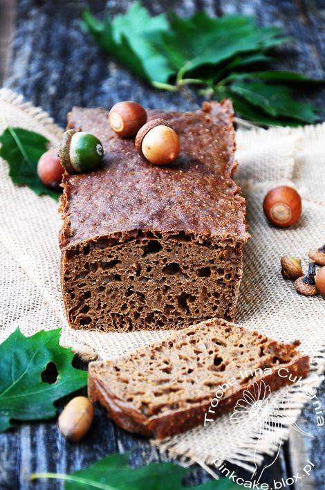 chleb z mąką żołędziową