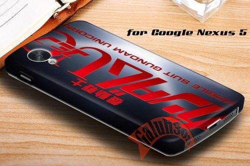 Gundam Unicorn Google Nexus 5 Case Cover | galuh303 - Accessories on ArtFire