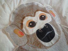 monkey quiltting
