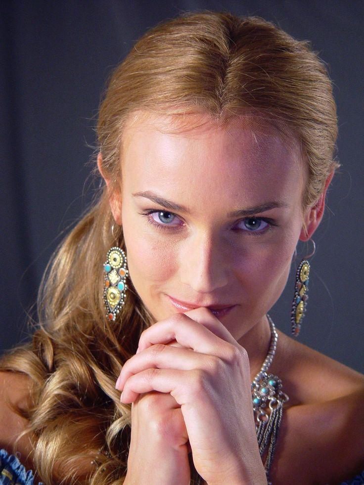 """Diane Kruger para """"Troya"""" (Troy), 2004"""