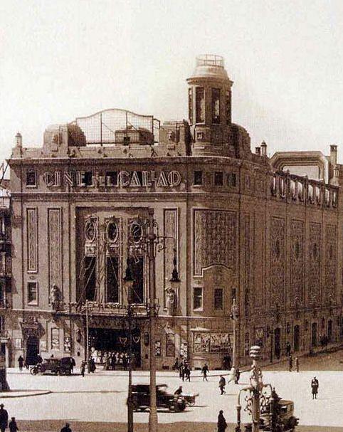 Cine Callao, Madrid, 1923