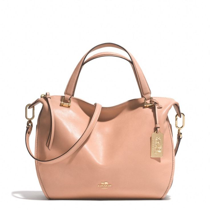The Madison Smythe Satchel In Leather from Coach. Can I use this color all year?