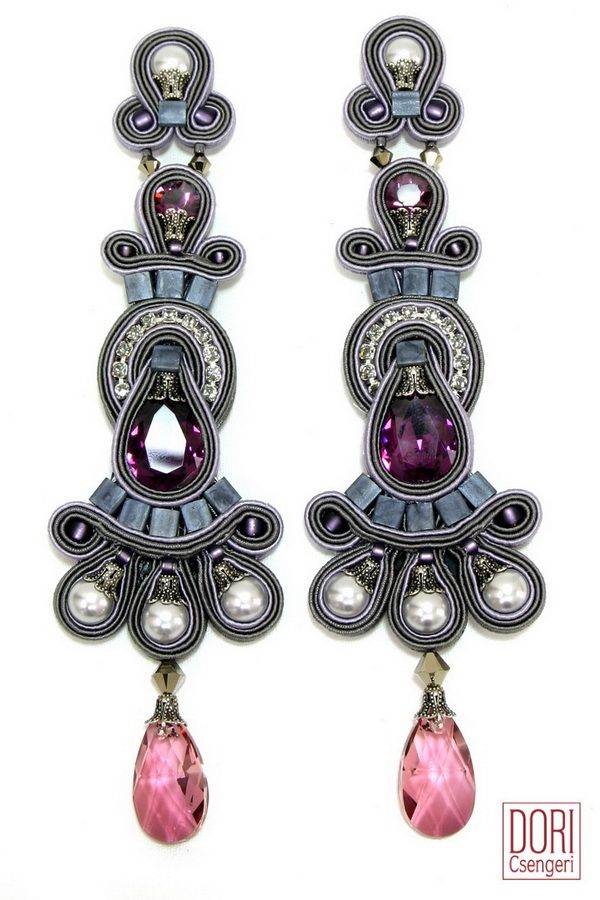 earrings : Rhapsody Pearl & Crystal Earrings www.doricsengeri.com
