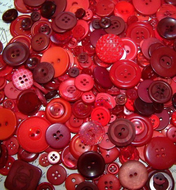 Rode knoopjes, je kunt er nooit genoeg van hebben!