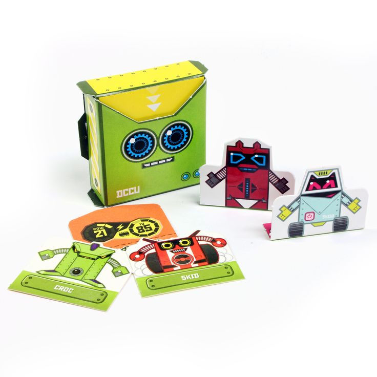 OiDroids Series 1 DCCU and data cards