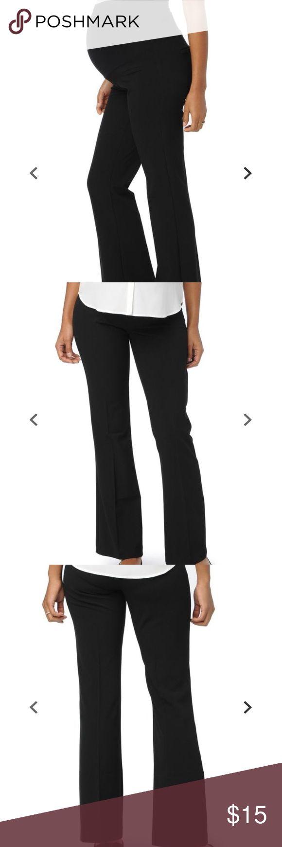 Maternity suit pants Super comfy and stretchy maternity suit pants. Flare cut. Faux pockets. Motherhood Maternity Pants