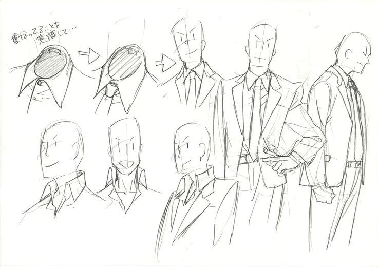 スーツ② suit tie and jacket