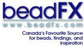 beadFX - a Canadian bead store - staffed with crazy bead ladies. We post beady tips, video clips, stories, notices about classes and sales, and sometimes totally irrelevant stuff that we think is interesting and you might too!