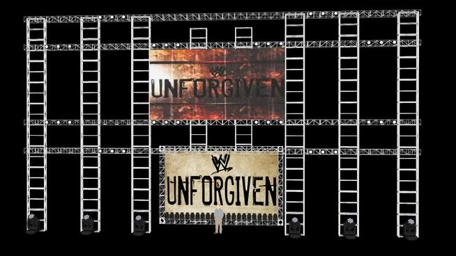 Large preview of 3D Model of WWE Unforgiven 2002