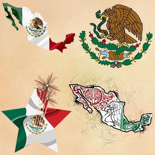 Mexican Flag Tattoos