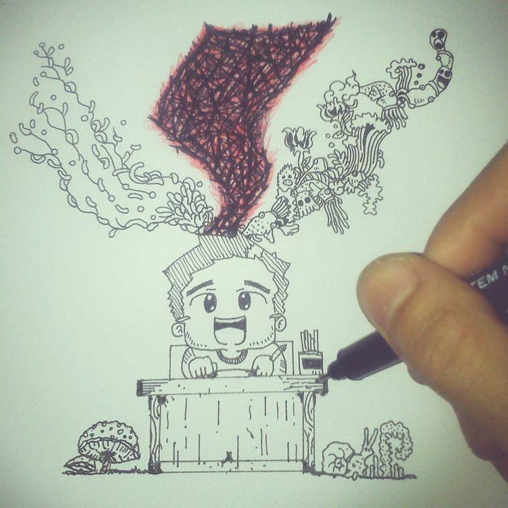 #Doodle #HandDrawn