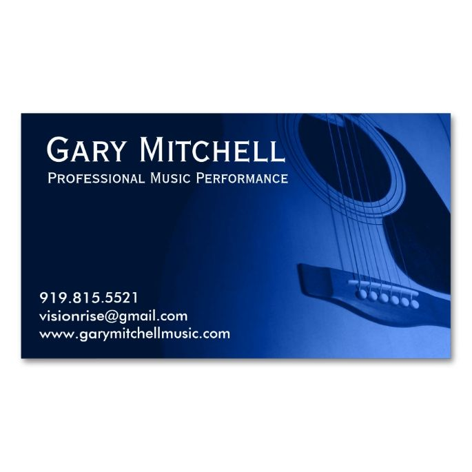 1000+ images about Music Business Card Templates on ...