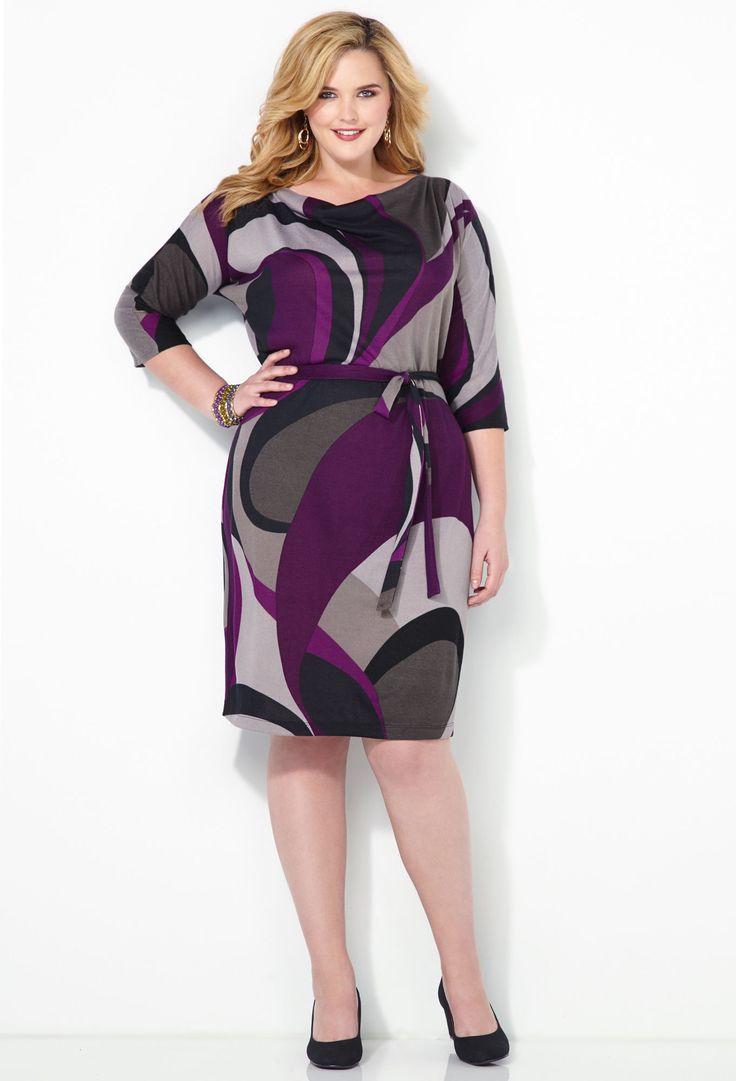 Shop Plus Size Work Dresses | Avenue.com
