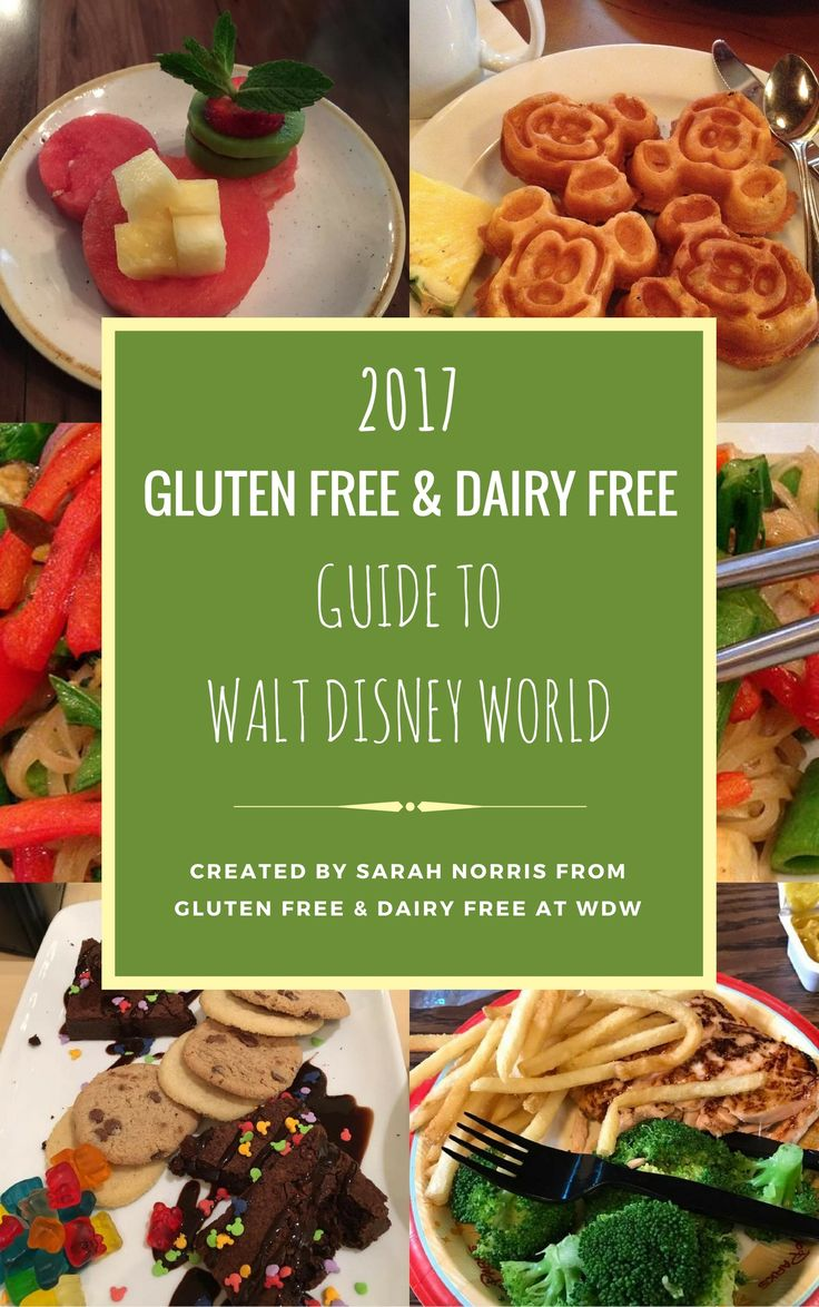 This post contains the 2017 Gluten Free & Dairy Free Guide to WDW, a guide that helps guests learn more about visiting Disney World with a special diet.