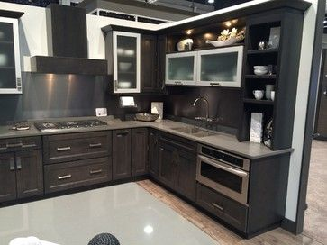 Diamond Cabinets Shown At The Kbis In Vegas 2014 This Shows The New Storm Finish