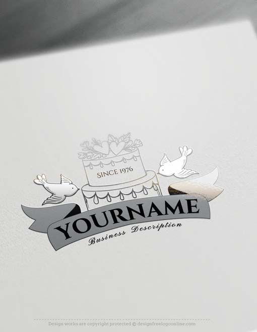 Free Logo Creator Create Vintage Wedding Logo Design with the Logomaker