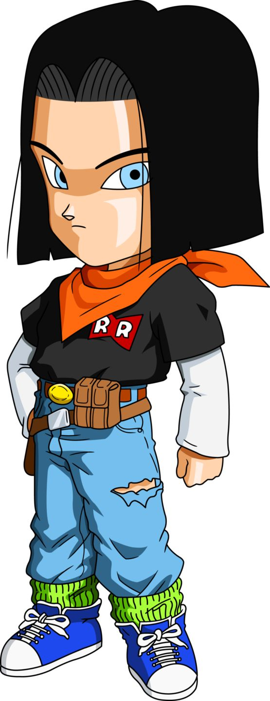Personajes Chibi de Dragon Ball- Número 17