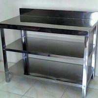 MT 3 stainless steel ( meja serbaguna)