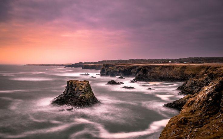 Coastline of Iceland - by Dennis Schmidt, 500px                                                                                                                                                     More