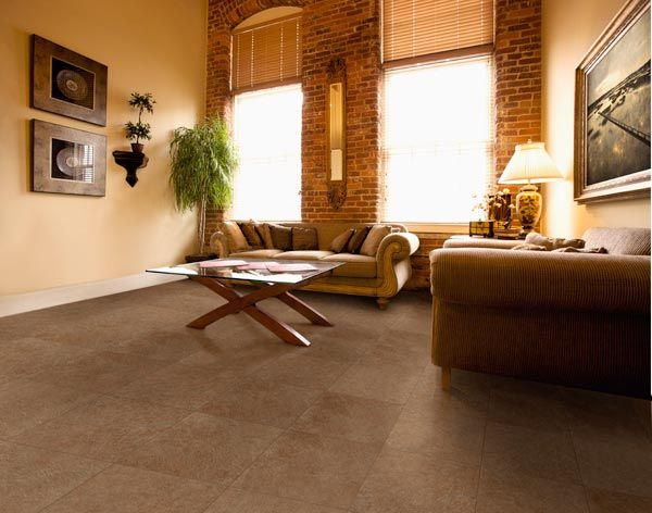 Grey Beige Vintage Leather Vinyl Floors For Living Room Vinyl Flooring Pinterest Vinyls