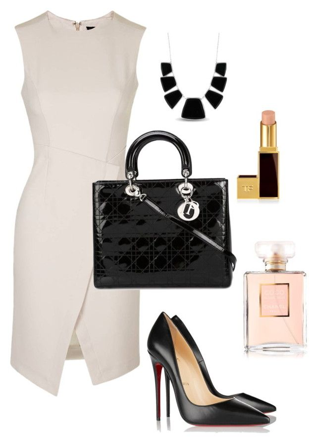"""""""Unbenannt #9"""" by fashionbible99 on Polyvore featuring Mode, Topshop, Christian Dior, Christian Louboutin, Karen Kane und Tom Ford"""