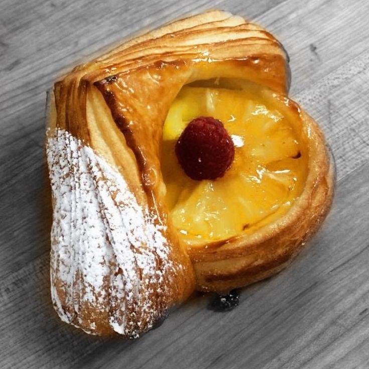 """512 Likes, 14 Comments - François Brunet (@francois_brunet) on Instagram: """"Danish pineapple  #Newyorkcity #nyc #danish #croissant"""""""