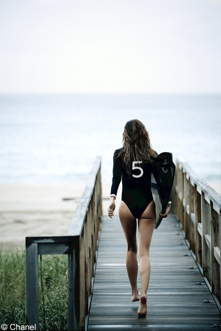 Gisele Bundchen pour Chanel N5