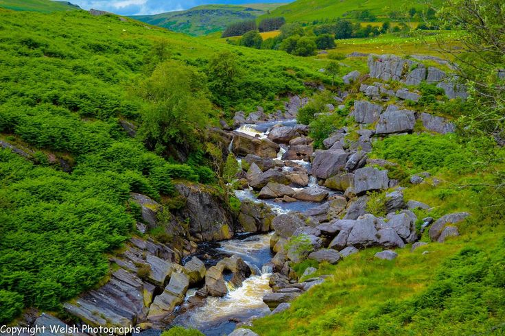 Elan Valley,Powys,Wales.   by Welsh Photographs
