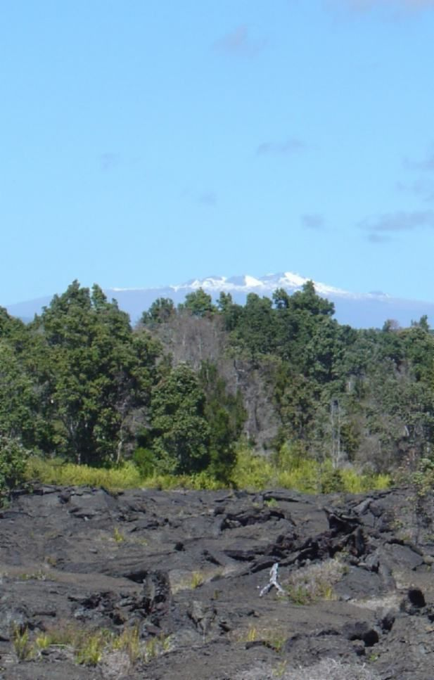 USA, Mauna Kea Peaks (13796 ft), Big Island, Hawaii