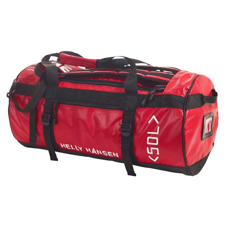 Egy klasszikus Helly Hansen sporttáska. Kopásálló sport és szabadidő táska, ami kézben, vállon vagy háton (mint egy hátizsákot...) egyaránt vihető. 50 literes űrtartalmú közepes méretű táska. Több színben!