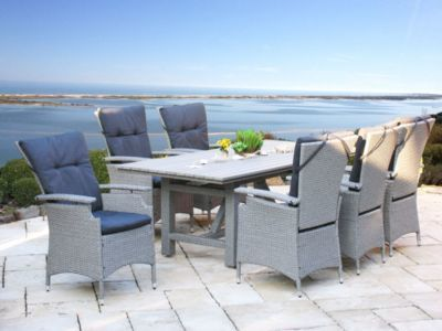 Terrassenmöbel lounge modern  Die besten 25+ Polyrattan sitzgruppe Ideen auf Pinterest | Garten ...