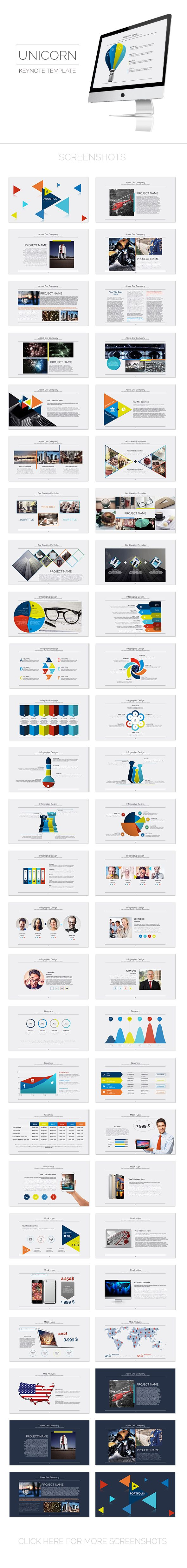 Unicorn Keynote Template. Download here: http://graphicriver.net/item/unicorn-keynote-template/15498392?ref=ksioks