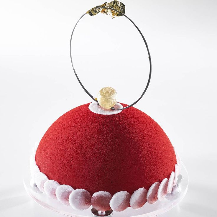 Here is the frozen dessert of the Moroccan pastry team at the 2015 Pastry World Cup. #moroccan #pastry #chefkevinashton #pastryworldcup #lyon #france