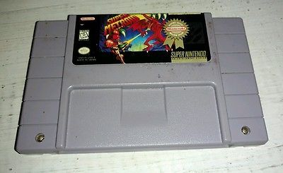 Super Metroid Super Nintendo - SNES Vintage Retro Video Game NES RARE