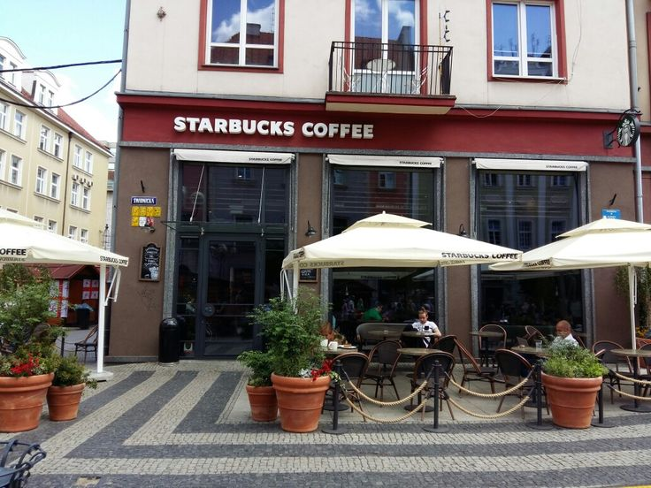 Ook Starbucks in Wroclaw